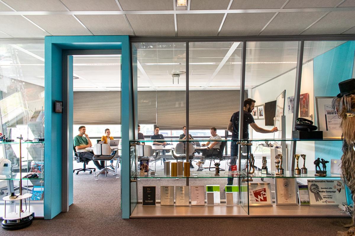 overleg ruimte bij IT bedrijf Triple