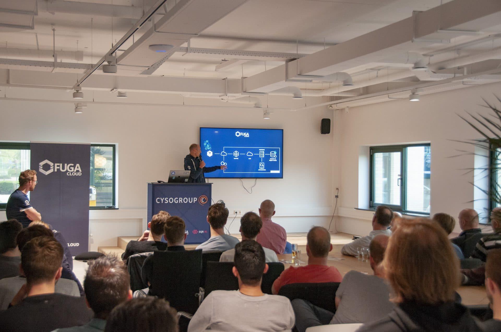 presentatie tijdens developer meetup - webinars